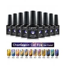 Oja Semipermanenta CANNI Chameleon Cat Eyes 454