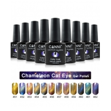 Oja Semipermanenta CANNI Chameleon Cat Eyes 455
