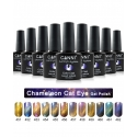 Oja Semipermanenta CANNI Chameleon Cat Eyes 456