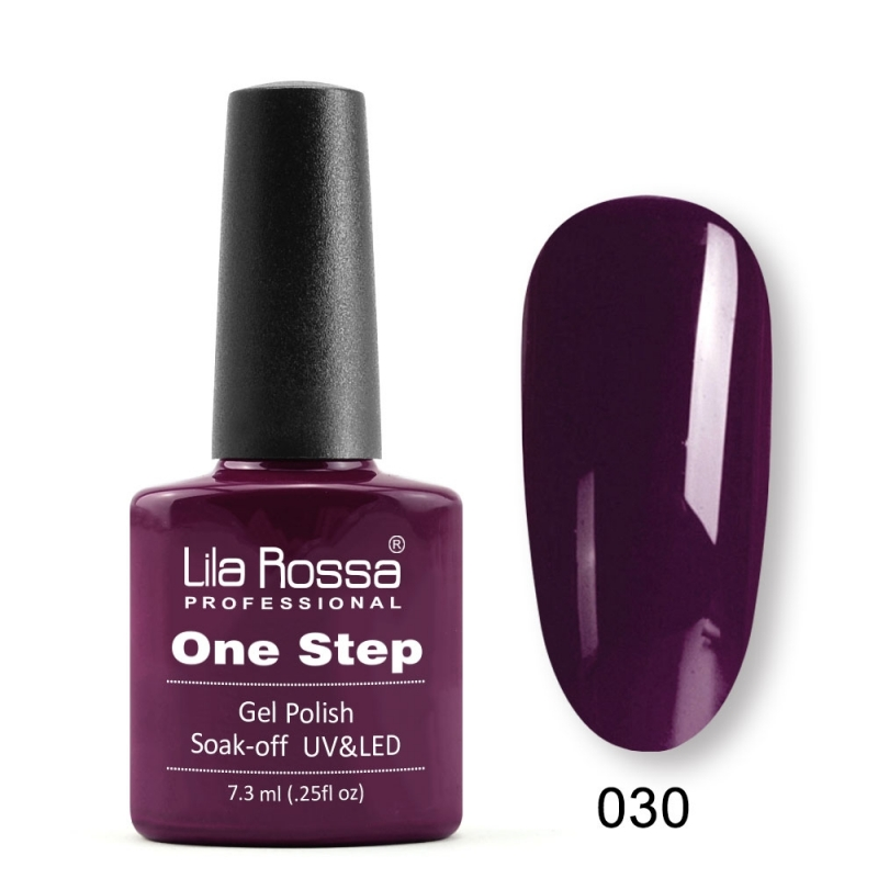 Oja Semipermanenta Lila Rossa ONE STEP 030
