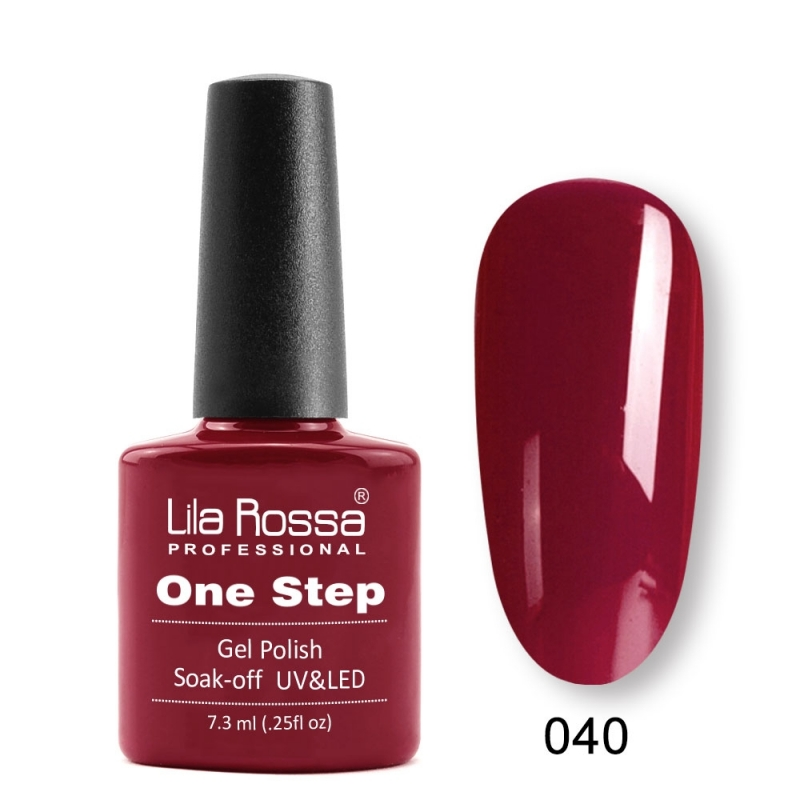 Oja Semipermanenta Lila Rossa ONE STEP 040