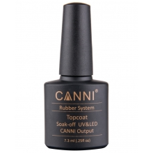 Oja Top Coat Soak Off Canni Rubber
