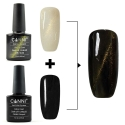 Oja Top Coat Soak-off Lila Rossa Cameleon Cat Eye Plumb