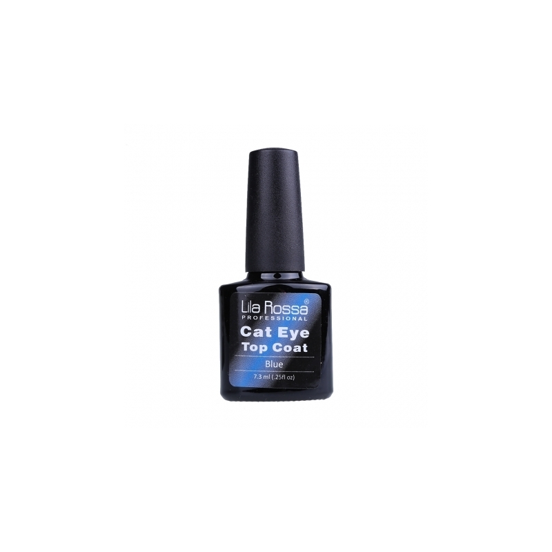 Oja Top Coat Soak-off Lila Rossa Cameleon Cat Eye Blue