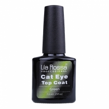 Oja Top Coat Soak-off Lila Rossa Cameleon Cat Eye Green