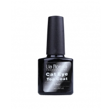 Oja Top Coat Soak-off Lila Rossa Cameleon Cat Eye Silver