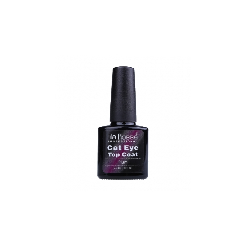Top Coat Soak-off Lila Rossa Cameleon Cat Eye 7.3 Ml Plum