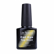 Top Coat Soak-off Lila Rossa Cameleon Cat Eye 7.3 Ml Gold