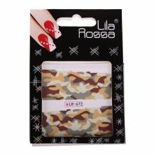 Sticker Unghii cu Efect 3D Lila Rossa Army