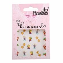 Sticker Unghii 3D Lila Rossa Sosete Cadouri