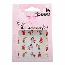 Sticker Unghii 3D Lila Rossa Ursuleti
