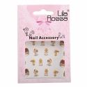 Sticker Unghii 3D Lila Rossa Ingerasi