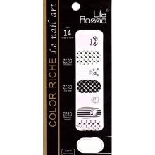 Sticker Unghii 14 In 1 Lila Rossa Lr028