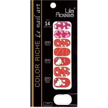 Sticker Unghii 14 In 1 Lila Rossa Lr009