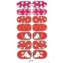 Sticker Unghii 14 In 1 Lila Rossa Lr009