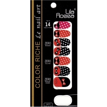 Sticker Unghii 14 In 1 Lila Rossa Lr016