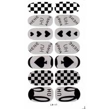 Sticker Unghii 14 In 1 Lila Rossa Lr017