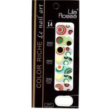Sticker Unghii 14 In 1 Lila Rossa Lr001