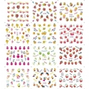 Stickere Unghii 12in1 cu Legume si Fructe