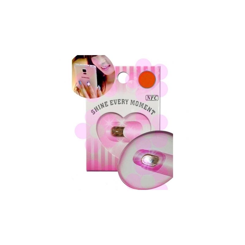 Sticker Licurici cu Led Pentru Unghii Rosu