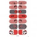 Sticker Unghii 14 In 1 Lila Rossa Lr020