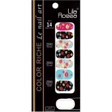 Sticker Unghii 14 In 1 Lila Rossa Lr023