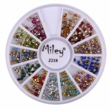 Decor Pentru Unghii Miley 12 Pozitii Diamant