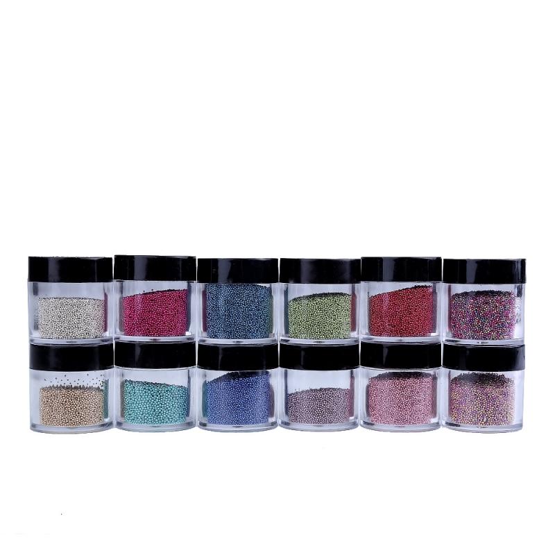 Sclipici Pentru Unghii Caviar Set 12