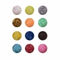 Sclipici Fire Pentru Unghii Frau   N 38 Set 12 Culori