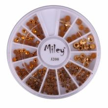 Decor Pentru Unghii Miley 12 Pozitii Gold