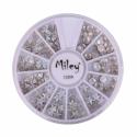 Decor Pentru Unghii Miley 12 Pozitii Stele Mixt