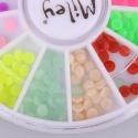 Decor Pentru Unghii Miley 12 Pozitii Color Mix