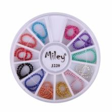 Decor Pentru Unghii Miley 12 Pozitii Margele