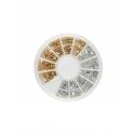 Carusel Unghii Pietricele Aurii+silver G3