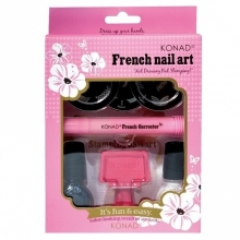Kit Unghii French Nail Art Konad