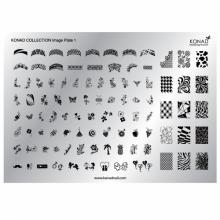Matrita Unghii Konad  Image Plate 1