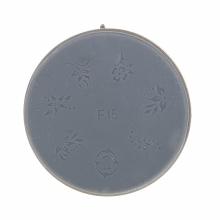 Matrita Silicon Pentru Stampila Unghie Aurie F15