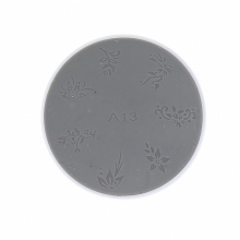 Matrita Silicon Pentru Stampila Unghii Alba A13