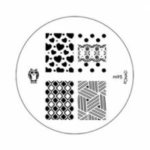 Matrita Metalica Pentru Stampile Unghii Konad M95