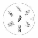 Matrita Metalica Pentru Stampile Unghii Konad M9