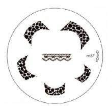 Matrita Metalica Pentru Stampile Unghii Konad M87