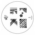 Matrita Metalica Pentru Stampile Unghii Konad M81
