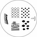 Matrita Metalica Pentru Stampile Unghii Konad M79
