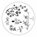 Matrita Metalica Pentru Stampile Unghii Konad M66