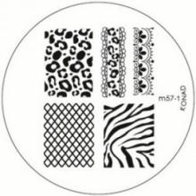 Matrita Metalica Pentru Stampile Unghii Konad M57-1