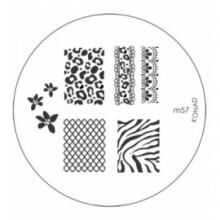 Matrita Metalica Pentru Stampile Unghii Konad M57
