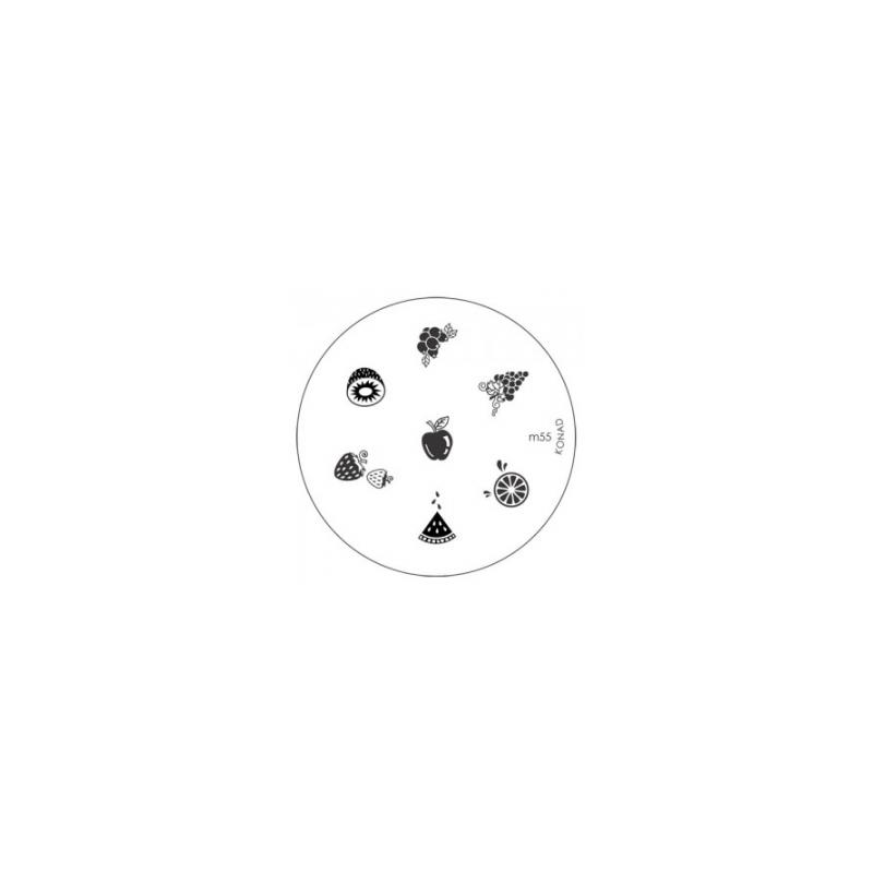 Matrita Metalica Pentru Stampile Unghii Konad M55