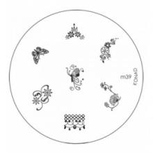 Matrita Metalica Pentru Stampile Unghii Konad M39