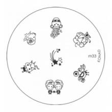 Matrita Metalica Pentru Stampile Unghii Konad M33