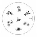 Matrita Metalica Pentru Stampile Unghii Konad M26